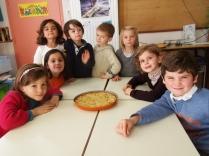Atelier cuisine dans la classe de madame Honoré