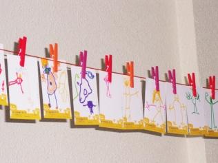 les maternelles dessinent pour les papis et mamis !