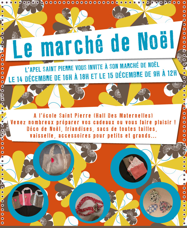 Le Marché de Noël à l'école Saint Pierre de Nantes