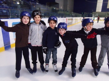 les classes de CP-CE2 et CM1-CM2 à la patinoire !