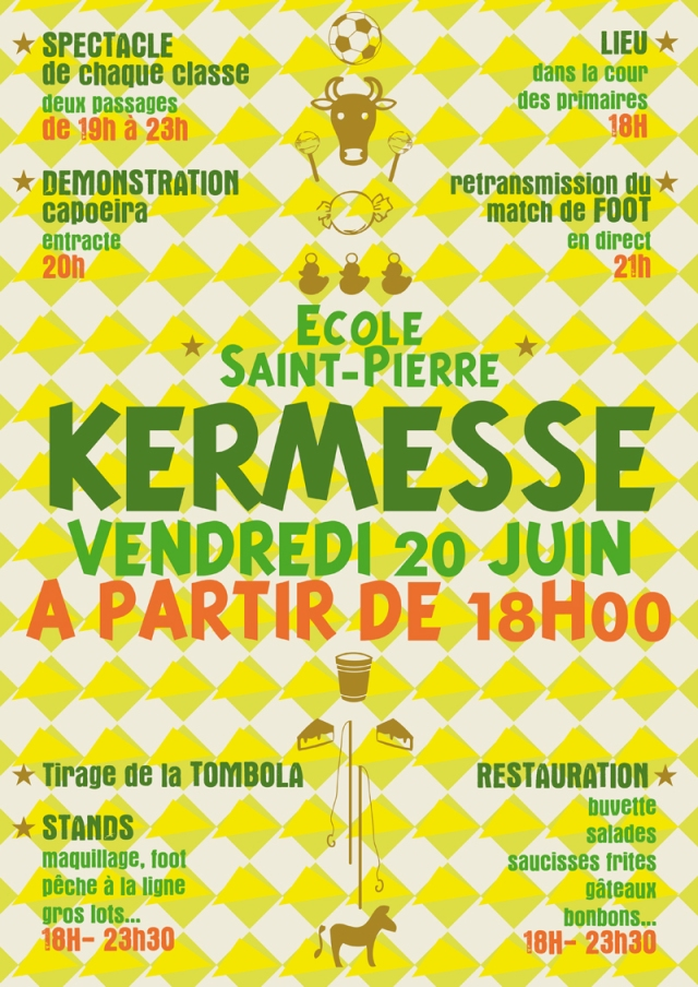 Affiche de la Kermesse 2014