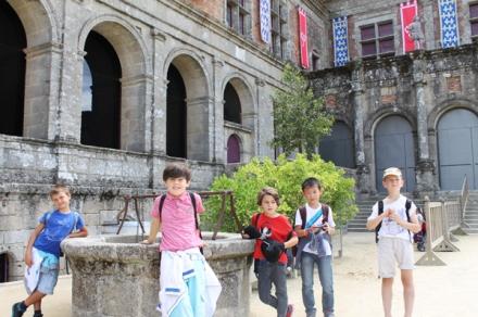 Au château du Puy du Fou