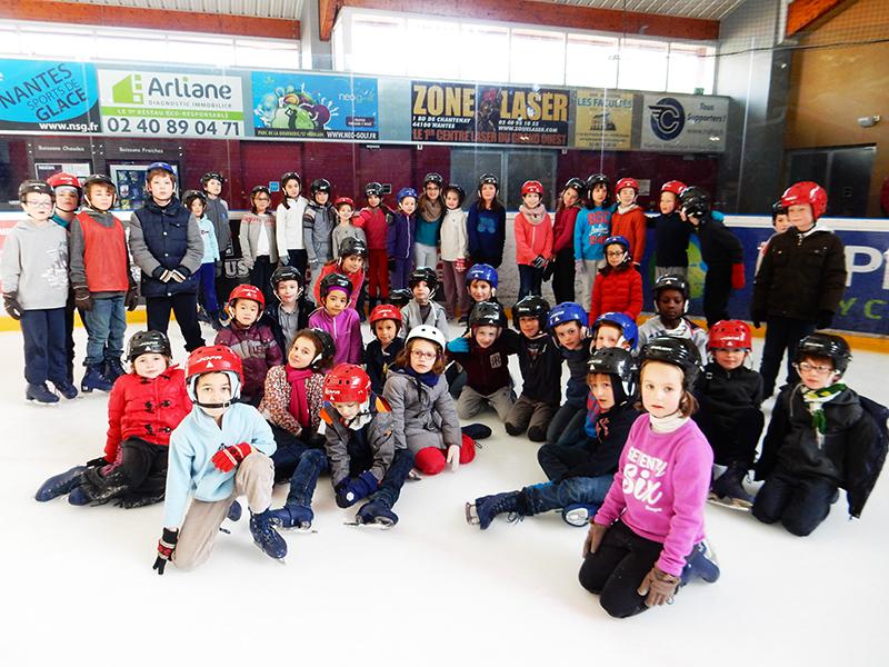 La patinoire du petit port ecole saint pierre de nantes - Patinoire petit port nantes ...